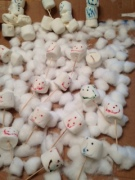Scary looking marshmallow people